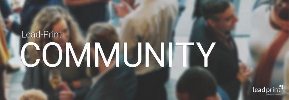 Lead-Print Community Ideenportal