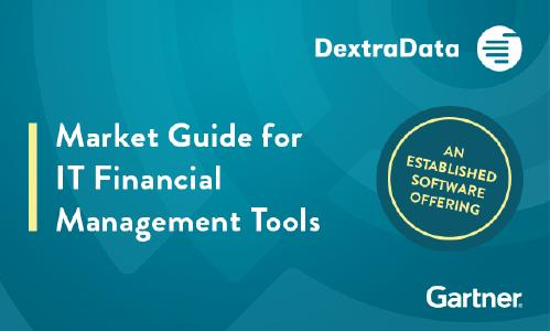 DextraData von Gartner als Established Software Offering erwähnt.