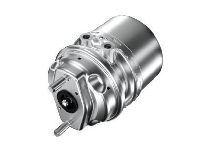 ZF führt eine innovative Plattform für Bremszylinder ein. Sie bietet eine Grundlage für sichere Bremsmanöver von Lkw, Bussen und Anhängern und optimiert zugleich die Kosteneffizienz für OEMs / Bild: ZF