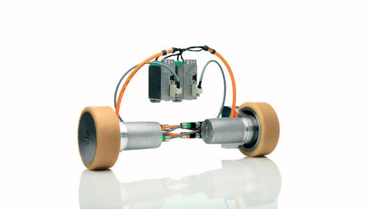 iTAS by WITTENSTEIN motion control: the first fully scalable and modular toolkit for automated guided vehicle (AGV) systems