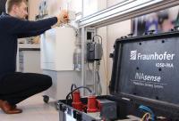 Echtzeitanalyse des Datenverkehrs über die OPC UA Schnittstelle: Das Fraunhofer IOSB-INA testete die Vathauer-Lösung im Lernlabor Cybersicherheit mit einem speziellen Produktionsdatenerfassungssystem. Bild: Fraunhofer IOSB-INA