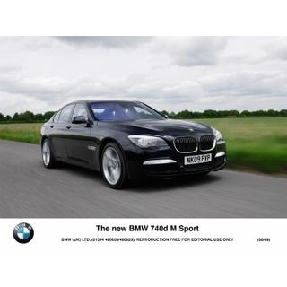 The new BMW 740d M Sport 02