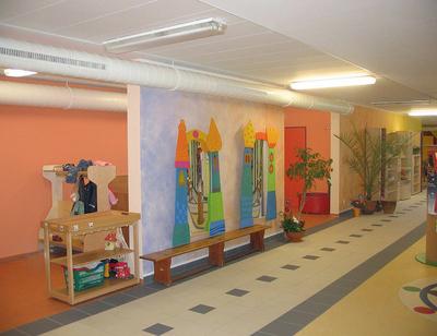 Kindgerecht statt kunterbunt brillux gmbh co kg for Raumgestaltung montessori