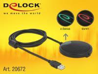 Neues Mini-Konferenzmikrofon von Delock