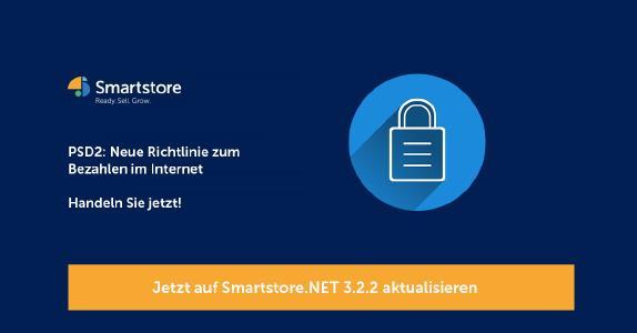 Smartstore.NET ist PSD2 ready
