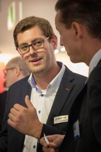 Christian Müller vom Speed4Trade-Messeteam führte zahlreiche Gespräche mit Kfz-Teile-Anbietern aus dem B2C- und B2B-Bereich.