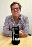 Paul Anderson mit dem Footprint award