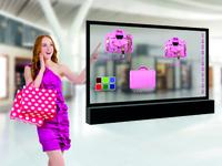 Transparentes OLED-Display mit modernster Touch-Technologie