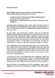"[PDF] Pressemitteilung: Engel & Völkers Capital AG steuert 9 Mio. Euro Mezzaninekapital zur Finanzierung des Projekts ""Wiesencenter"" in Jena bei"