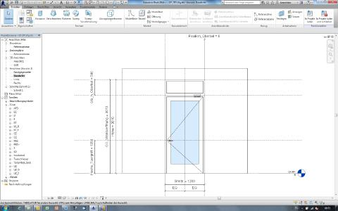 Komplettes Türsystem am Beispiel des CAD-Programms Revit / Foto: GEZE GmbH