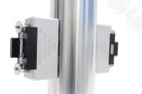Die Magnet-Aufpresssensoren des Systems QE1008 W erfassen die Dehnung der Holme an Spritzgießmaschinen
