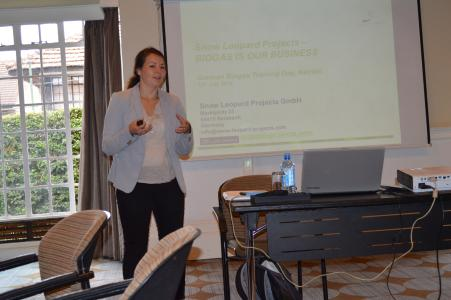 """Keen Interest in """"German Biogas Training Day"""" at the BIOGAS AFRICA FORUM 2016"""