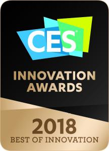 LG CES 2018 Best of Innovation Award