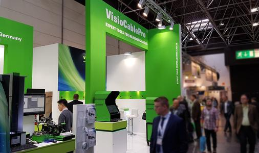 Trade fair stand of the brand VisioCablePro®