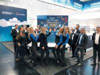 Großer Jubel: Beim Airhockey-Turnier für den guten Zweck kamen über 10.000 Euro für die SOS-Kinderdörfer zusammen