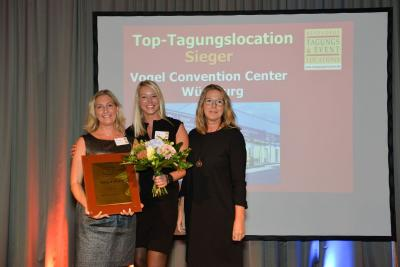 Vogel Convention Center ist die Top-Tagungslocation in Deutschland