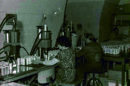KOC Erste Produktion Hilbertshof 1962