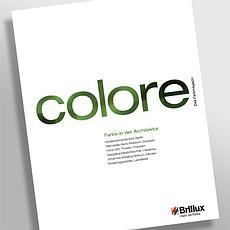 Brandneu und 70 Seiten stark: Colore – das neue Architekturmagazin von Brillux