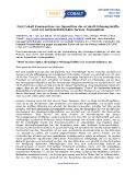 [PDF] Pressemitteilung: First Cobalt Kommentare zur Opposition der eCobalt Führungskräfte und zur wertvernichtenden Jervois-Transaktion