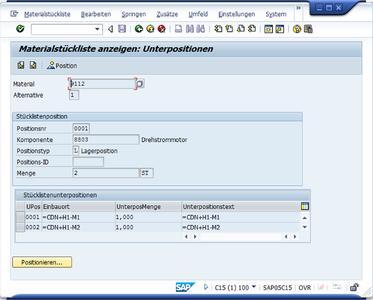 Über die Eplan SAP-Integration lassen sich Stücklisten übertragen