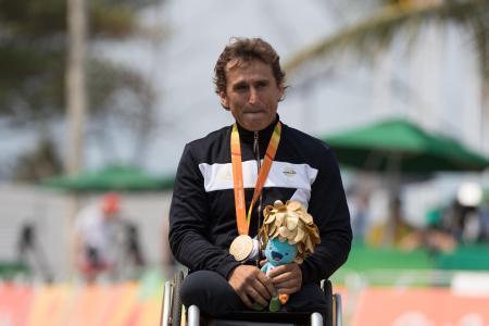 Alessandro Zanardi, Rio de Janeiro, 2016
