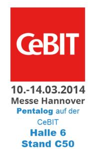 Pentalog auf CeBIT 2014