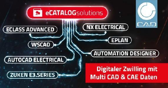 Mit Multi CAD Daten für MCAD und ECAD aus einer einzigen Datenquelle zum digitalen Zwilling