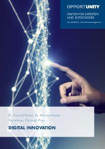 """Cover der neuen OPPORTUNITY """"Digital Innovation"""""""