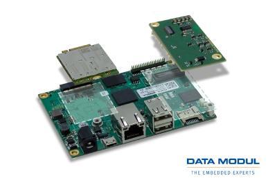 Kleines Format mit großer Power: DATA MODUL präsentiert erstes Board der flexiblen i.MX8M-Serie