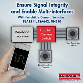 Fairchild Semiconductor stellt Schaltlösungen speziell für Kameramodule vor