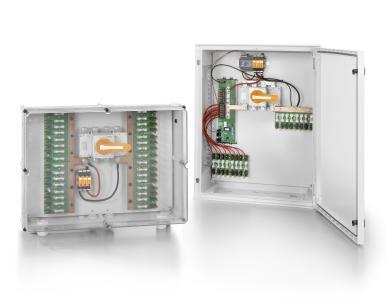 Weidmüller Photovoltaik-Lösungen: Die neuen Generatoranschluss¬kästen PV SMART sind für preissensitive PV-Anlagen bestimmt. Sie sind platzsparend und nahezu wartungsfrei konzipiert und einfach zu installieren