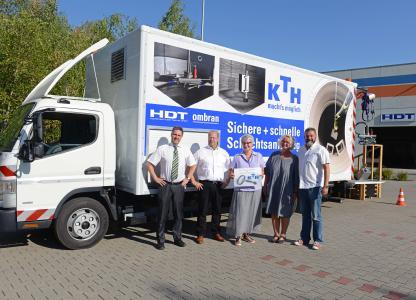 Hanke Kanaltechnik erwirbt Spezial-LKW von HDT