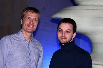 designenlassen Die Gründer Michael Kubens und Eugen Sobolewski