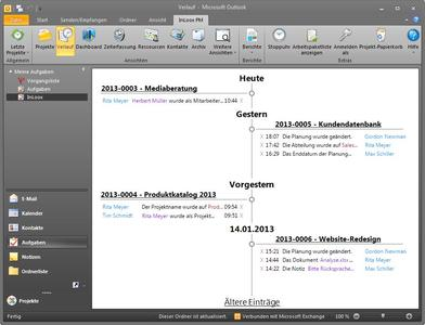 Projektmanagement integriert in Outlook - jetzt auch in der Cloud