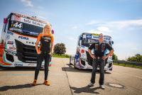 Eindrücke vom Iveco – Event mit Jochen Hahn und Steffi Halm