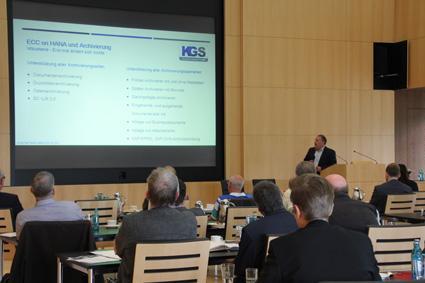 KGS informierte über SAP-Archivierung in der Dr. Oetker Welt. Foto. KGS Software