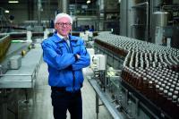 """""""Unser Ziel ist die komplett CO2-neutrale Produktion"""": Michael Brodmann, Geschäftsführer der Johann Spielmann GmbH / Foto: Effizienz-Agentur NRW"""