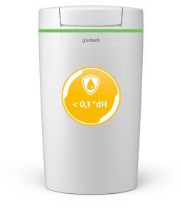 Die Grünbeck-Enthärtungsanlage softliQ:MD12i sorgt für vollenthärtetes Wasser und bietet gegenüber dem Vorgängermodell eine Leistungssteigerung von 60 % / Bild: Grünbeck Wasseraufbereitung GmbH