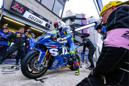 Suzuki Endurance verteidigt Führung