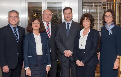 Mit Leidenschaft für die Region eingesetzt: Lohse, Löffler, Riedmaier und Suckale aus ZMRN-Vorstand verabschiedet