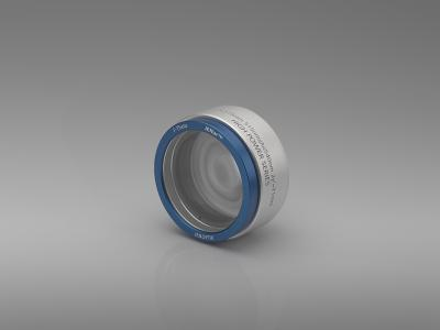 New F-theta Lens for Ultrashort Pulse Electronics Production