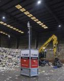 Mobiles RED für eine sichere Abfall-Lagerung