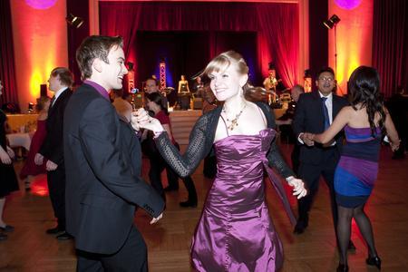 Gala-Ball der TU Ilmenau im Zeichen des 20. Universitätsjubiläums (© TU Ilmenau/Chris Liebold)