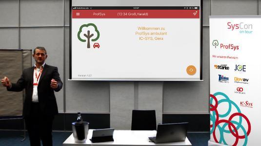 SysCon on tour Vortrag von Roland Wienen