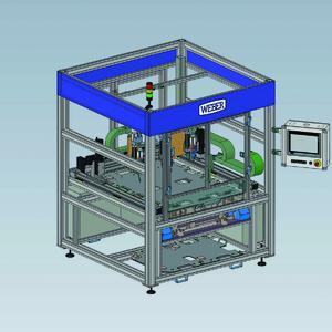 Portalanlage von WEBER Schraubautomaten zur Montage des EJOT TSSD®
