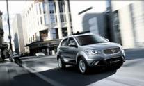 Die überarbeitete Optik verleiht dem Korando noch dynamischeres Aussehen (Foto: SsangYong Motors Deutschland GmbH)