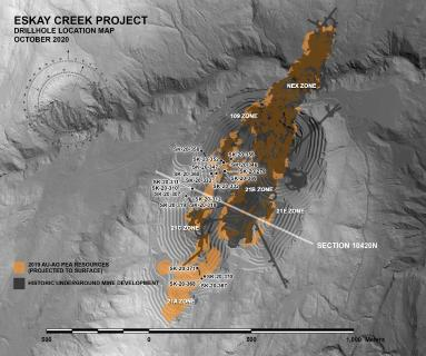 Skeena Intersects 4.48 g/t AuEq over 28.50 metres at Eskay Creek
