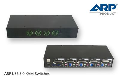 Neue Super-Speed KVM-Switches von ARP