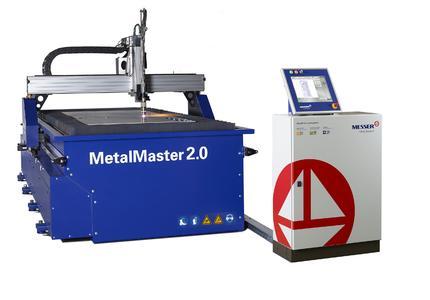 """Der neue MetalMaster 2.0 der Messer Cutting Systems GmbH aus Groß-Umstadt ist der kostengünstige Einstieg ins Plasma- und Autogenschneiden und liefert kompakt verpackte Messer-Qualität """"Made in Germany""""."""