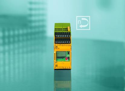 Für die sichere Überwachung der Rotor- und der Generatordrehzahl sowie des Übersetzungsverhältnisses in Windenergieanlagen stellt Pilz den sicheren Drehzahlwächter PNOZ s30 zur Verfügung.